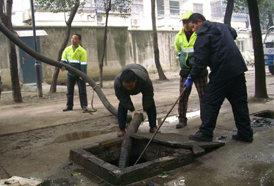污水池清洗
